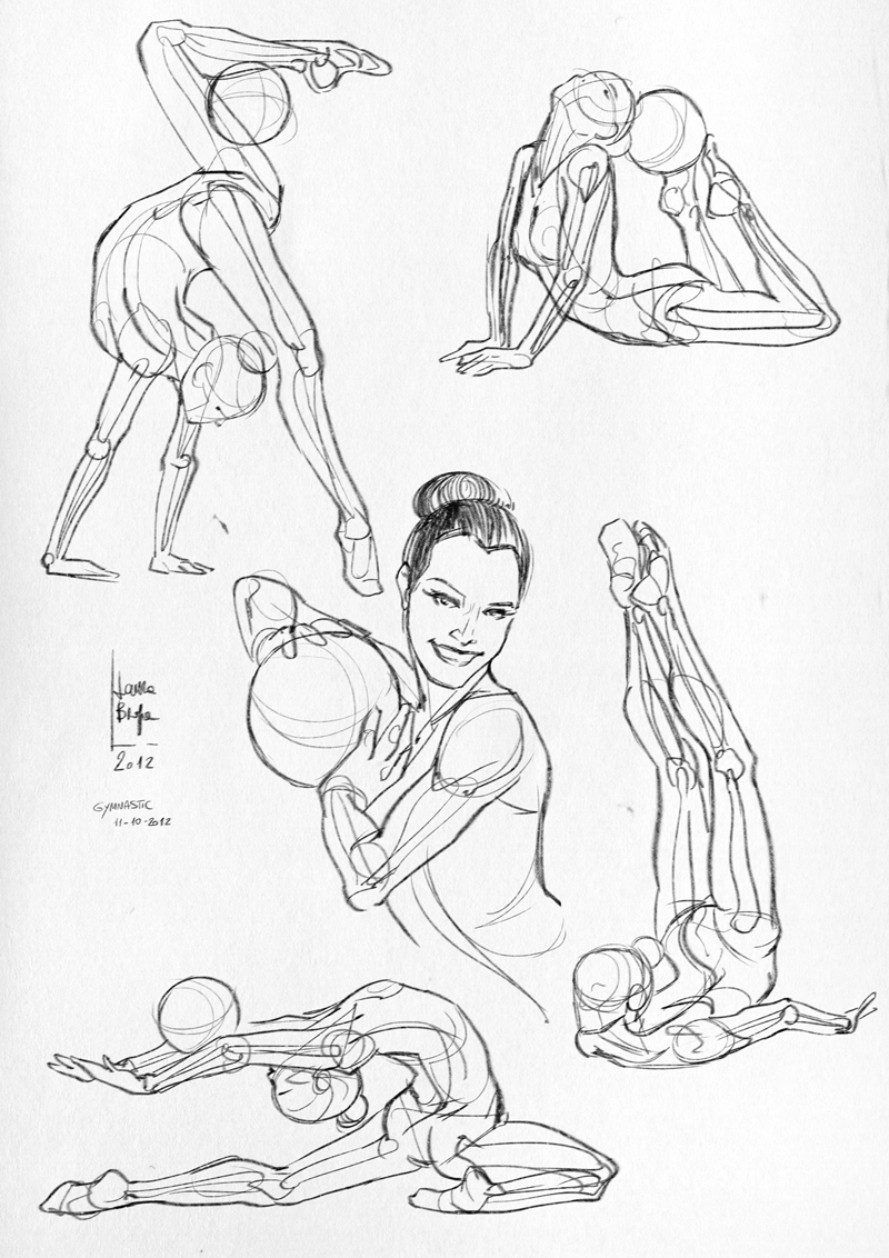 Laura Braga ::..: Anatomical studies and sketches