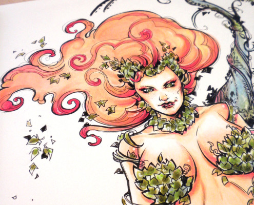Poison Ivy - Color - Detail