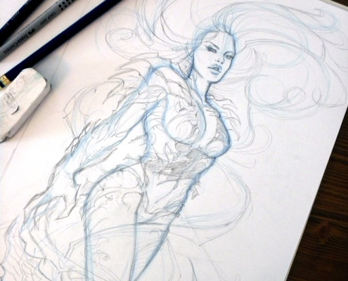 Witchblade - Pencil