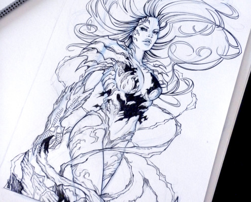 Witchblade - Ink