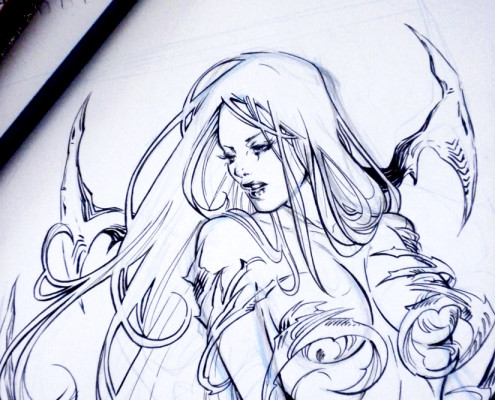 Witchblade - WIP- Detail
