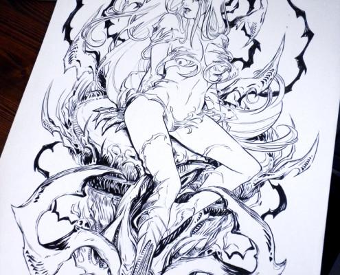 Witchblade - Pencil